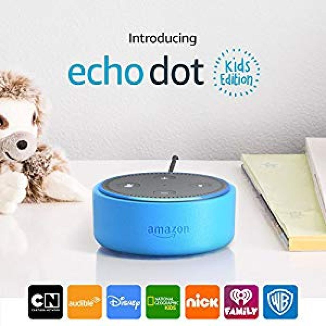 Echo Dot Kids Edition | a smart speaker with Alexa for kids