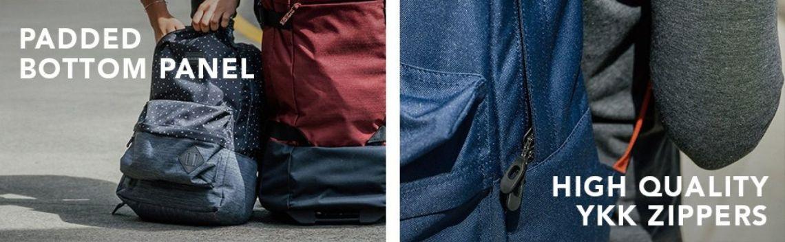 "Amazon.com: Dakine - 365 21L Backpack - Laptop Sleeve - Separate Front Pocket - Durable YKK Zippers - 18"" X 12"" X 8"" (Kalea Canvas): Sports & Outdoors"