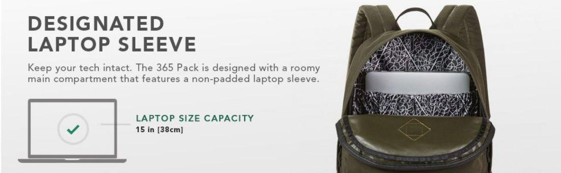 "Amazon.com: Dakine - 365 21L Backpack - Laptop Sleeve - Separate Front Pocket - Durable YKK Zippers - 18"" X 12"" X 8"" (Fireside II Canvas): Sports & Outdoors"