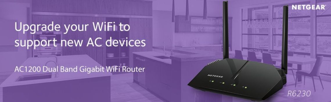 Amazon.com: NETGEAR AC1200 Dual Band Smart WiFi Router, Gigabit Ethernet (R6230): Computers & Accessories