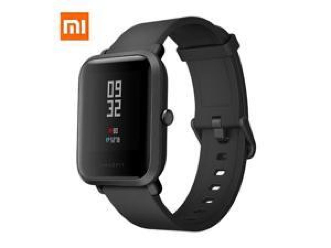 XiaoMi Original AMAZFIT A1608 Bip Smart Watch GPS GLONASS Bluetooth 4.0 Heart Rate Monitor IP68 Waterproof Android 4.4 IOS 8(Black) – NeweggFlash.com