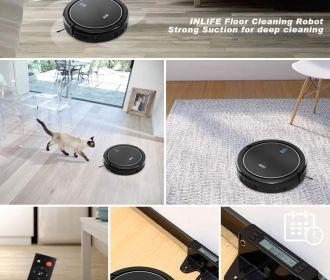 Buy Self Charging Robotic Vacuum Cleaner for $98.28