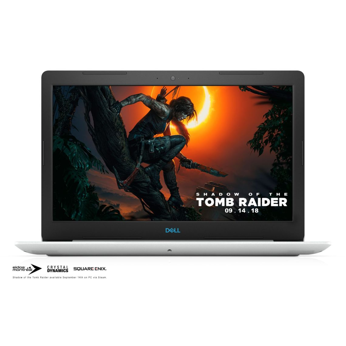 """Dell G3 Gaming Laptop 15.6""""Full HD, Intel Core i7-8750H, 8GB RAM, NVIDIA GeForce GTX 1050Ti 4GB, 1TB + 128GB SSD, G3579-7054WHT - Walmart.com"""