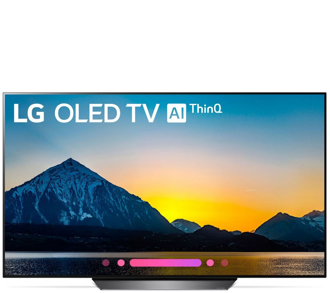 "LG 55"" 2018 4K OLED HDR Smart TV with AI ThinQ — QVC.com"