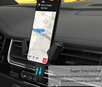Buy Phone Mount for Car Air Vent for iPhone and others for $7.99 (Was $14.99)