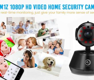 Buy 1080P Wi-Fi IP Home Security Camera for $16 (Was $39.99)