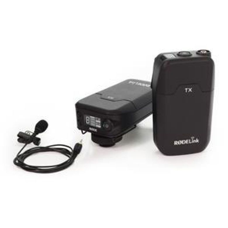 Rode Microphones RODELink Digital Wireless System for Filmmaker RODELINKFILMMAKERKIT
