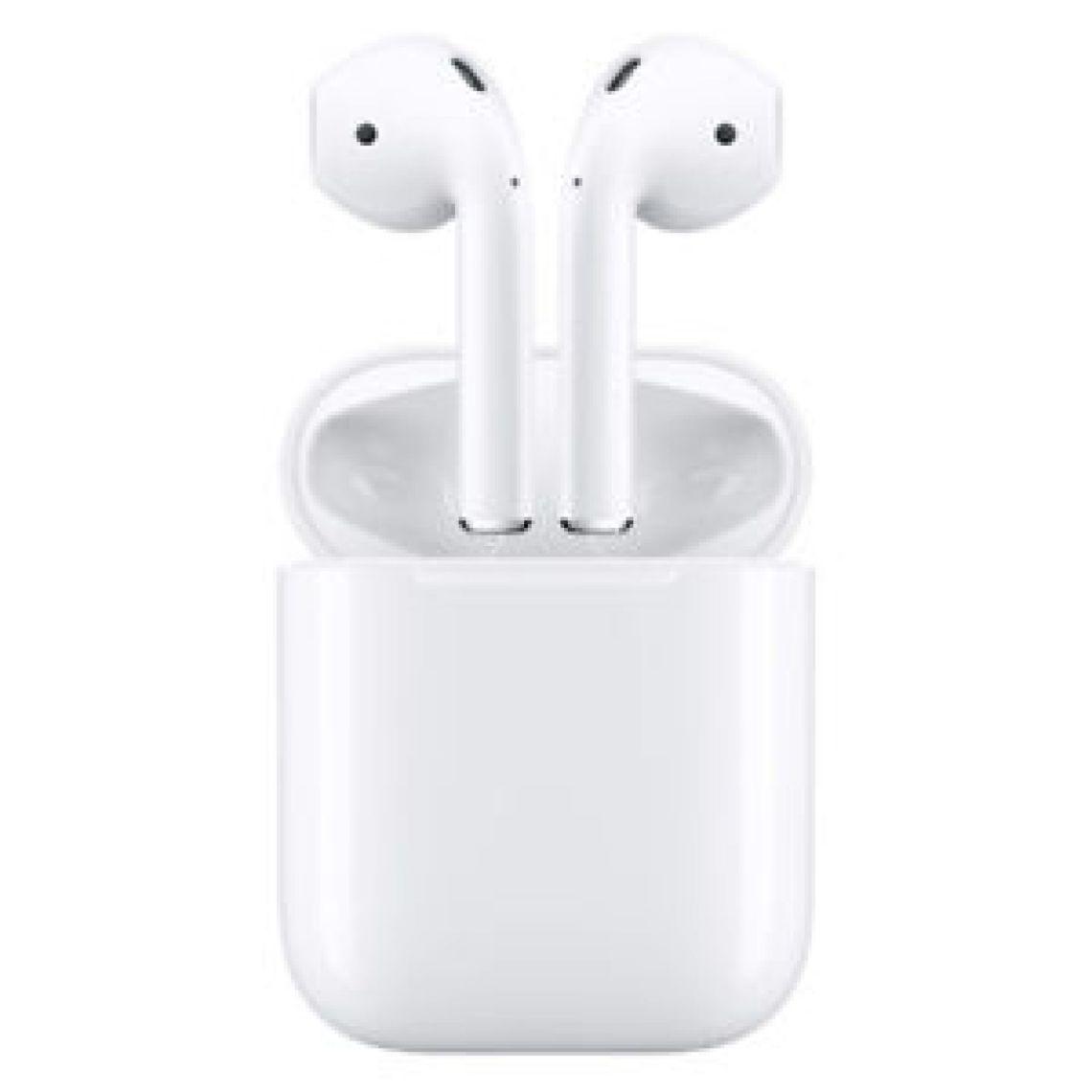 Apple AirPods Wireless Bluetooth Earphones Headphones - White 888462858410 | eBay