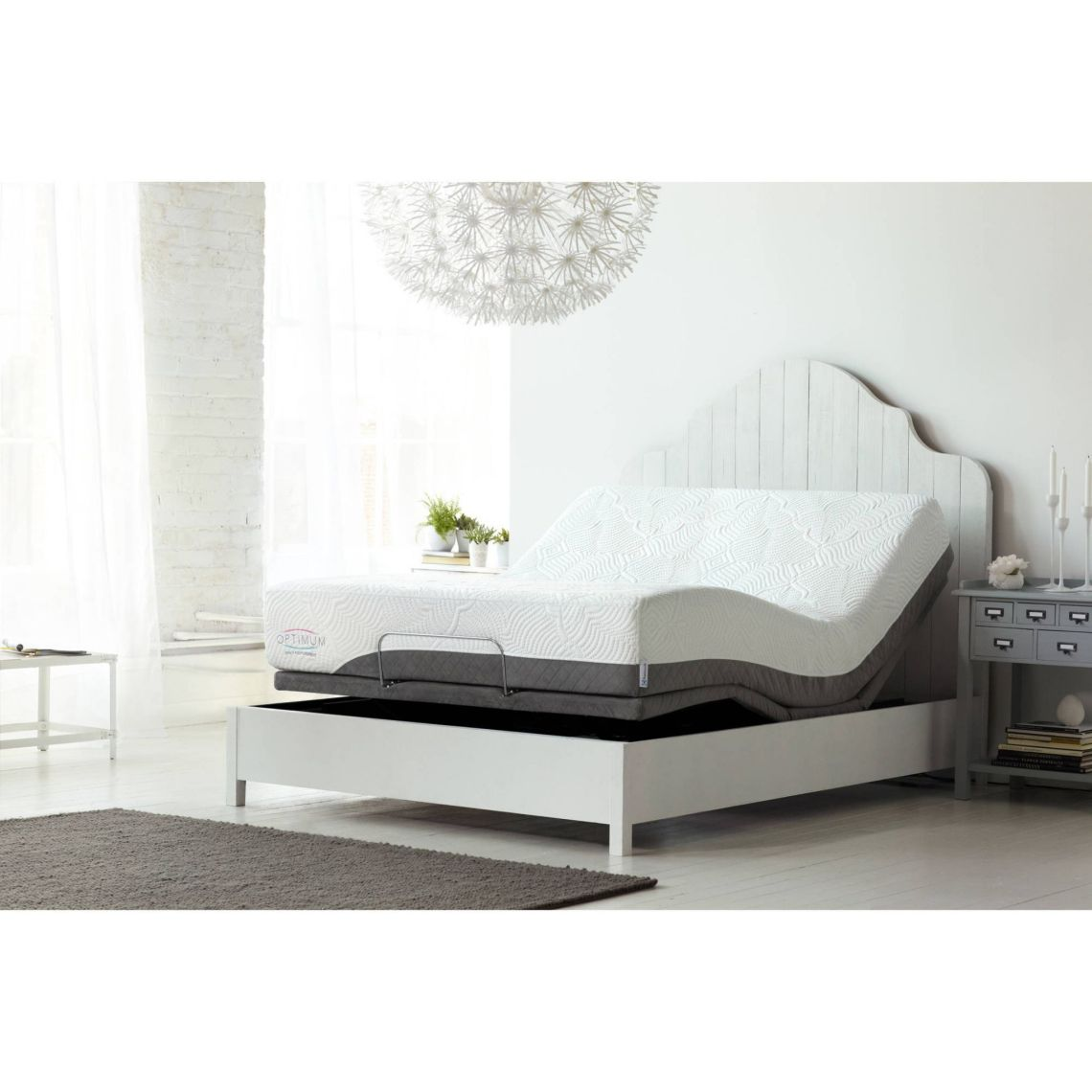 "Optimum Latex By Sealy Posturepedic Dreams Cushion Firm 10"" Mattress, Multiple Sizes - Walmart.com"