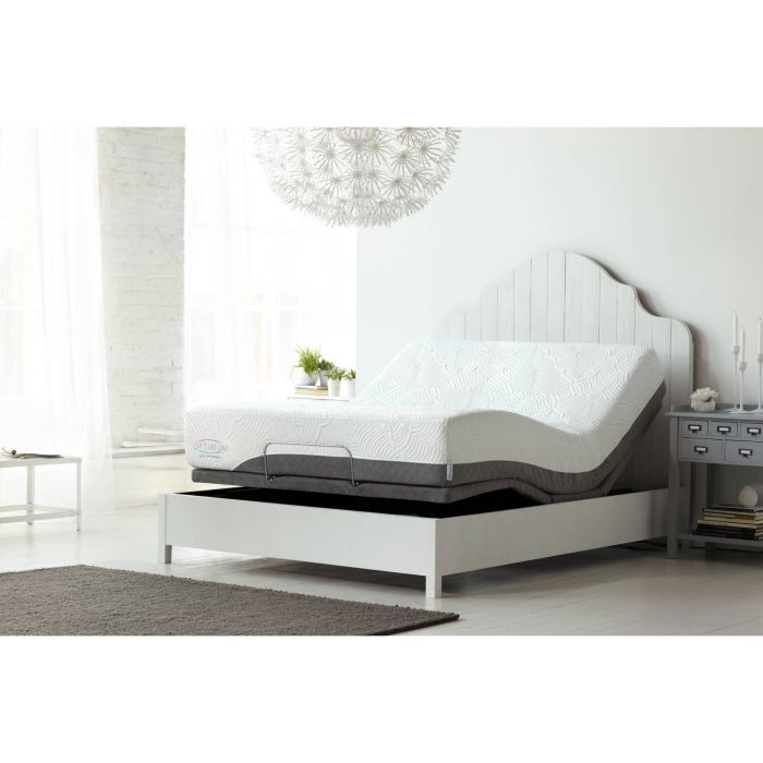"Optimum Latex By Sealy Posturepedic Dreams Cushion Firm 10"" Mattress, Multiple Sizes - Walmart.com"