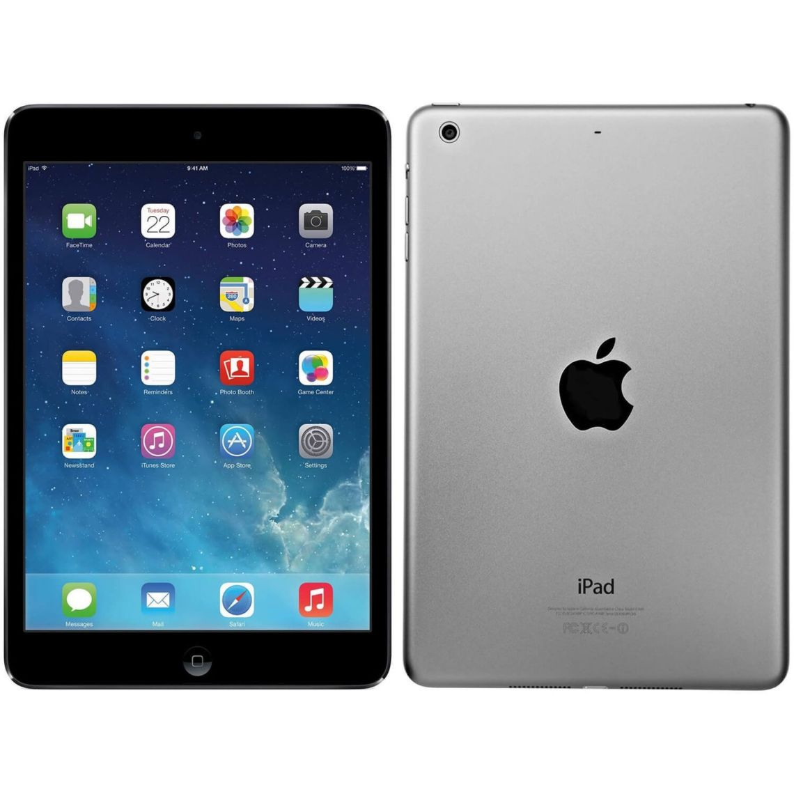 "Refurbished Apple iPad Air WiFi 16GB iOS 7 9.7"" Tablet - MD785LL/A - Space Gray - Walmart.com"