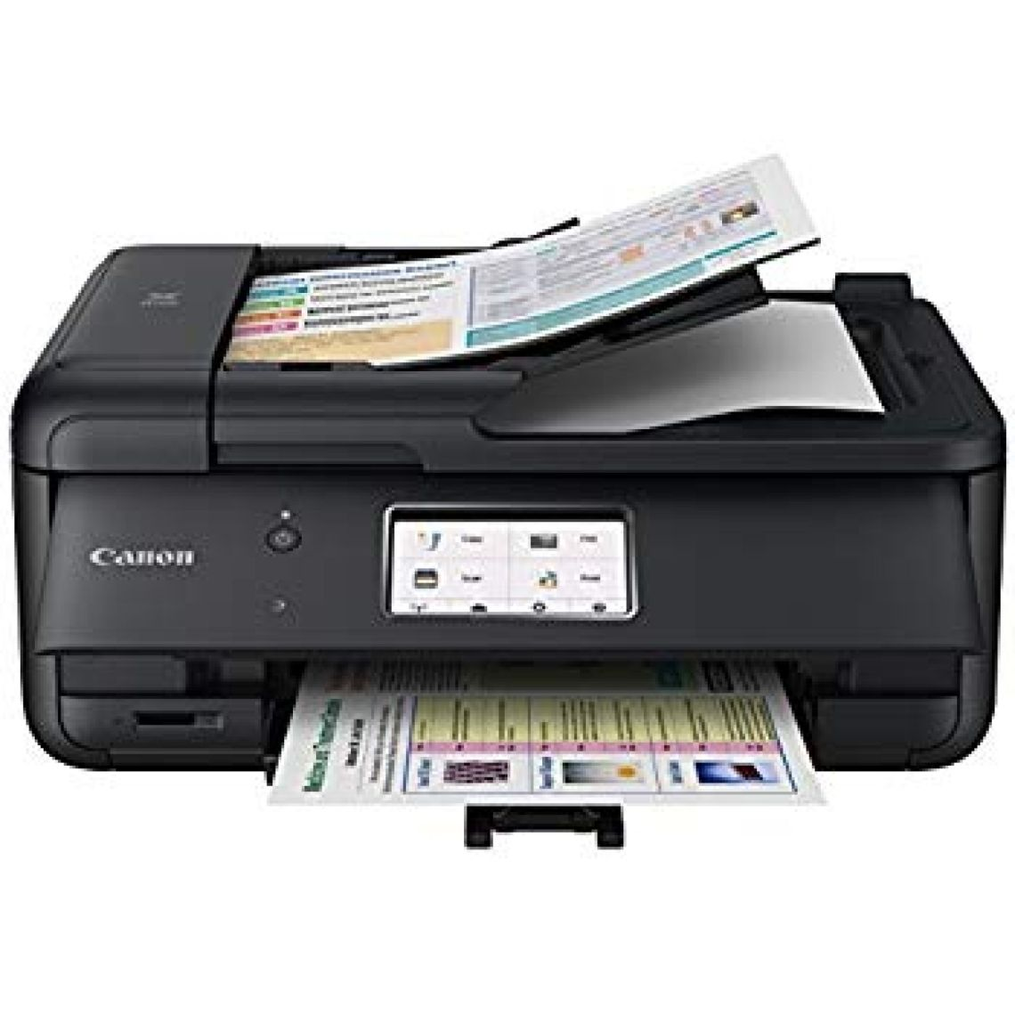 Amazon.com: Canon PIXMA TR8520 Wireless All in One Printer | Mobile Printing | Photo and Document Printing, AirPrint(R) and Google Cloud Printing, Black: Electronics