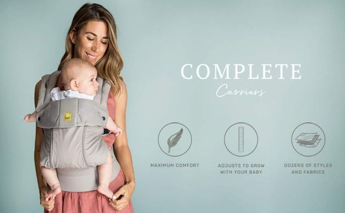 Amazon.com : LÍLLÉbaby The COMPLETE Airflow SIX-Position 360° Ergonomic Baby & Child Carrier, Black - Cotton Baby Carrier, Ergonomic Multi-Position Carrying for Infants Babies Toddlers : Child Carrier Products : Baby