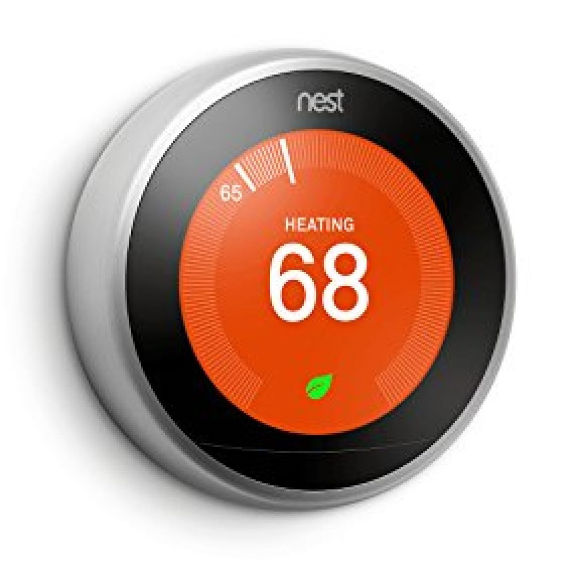 Nest (T3007ES) Learning Thermostat, Easy Temperature Control for Every Room in Your House, Stainless Steel (Third Generation), Works with Alexa - - Amazon.com