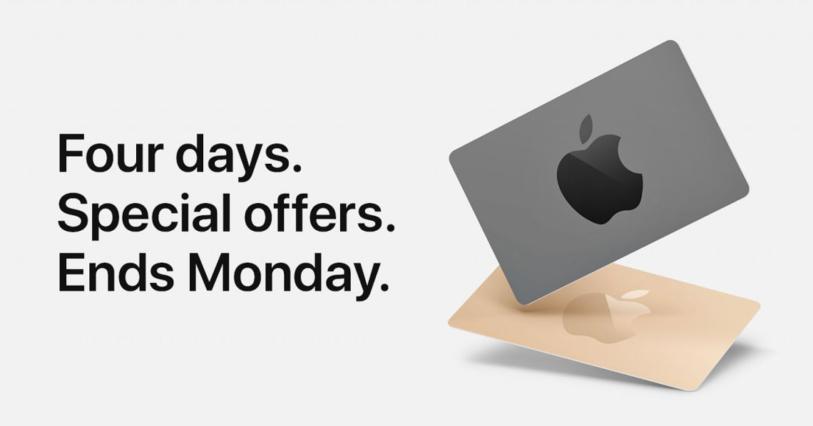Black Friday through Cyber Monday Shopping Event - Apple