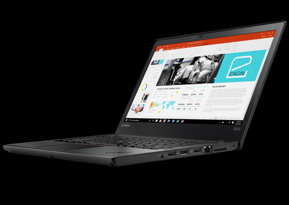 "Lenovo ThinkPad T470 | 14"" Business-Ready Laptop 