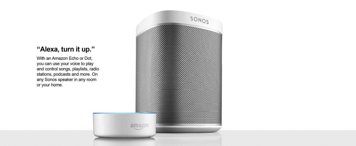 Amazon.com: Two Room Set with Sonos Play:1 + $30 Amazon Gift card: Home Audio & Theater