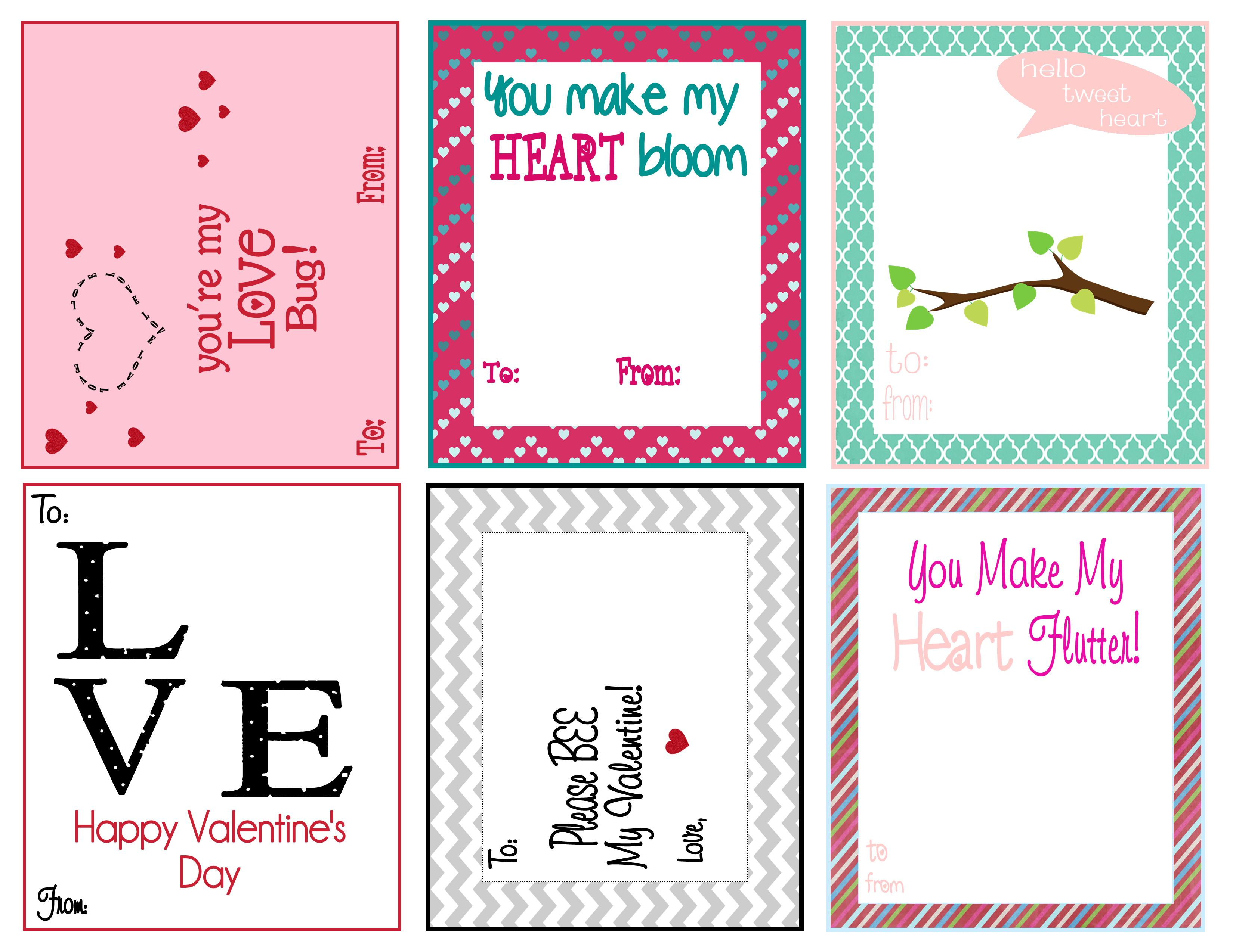 Top 5 Best Printable Kids Valentine S Day Cards For School