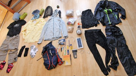PCT Gear Packing List