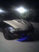 Pontiac Sunfire Front Bumper Blue Underglow