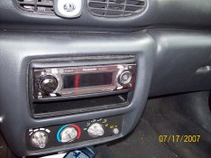 Old panasonic car stereo cd player