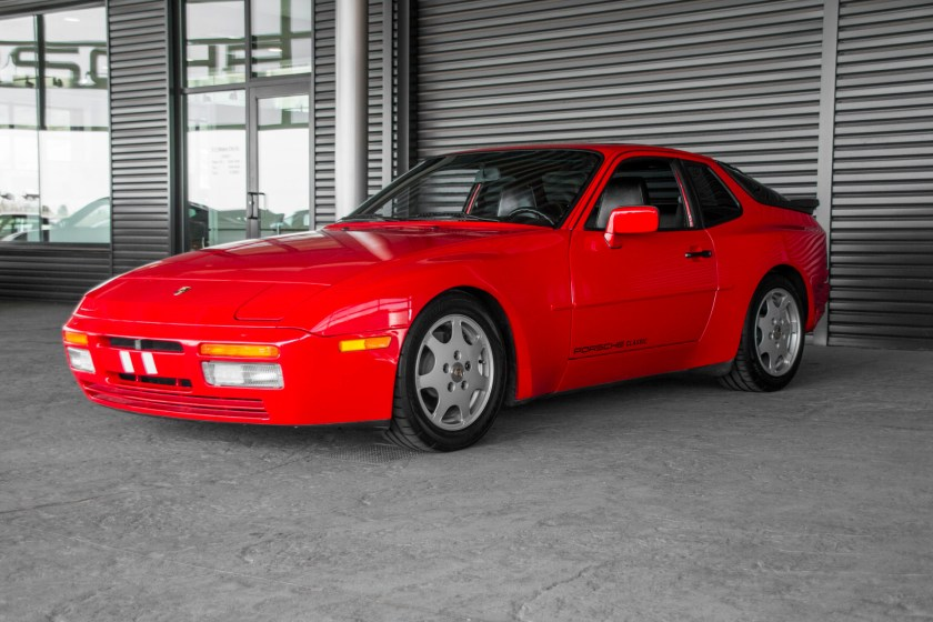 Red 1989 Porsche 944 Turbo