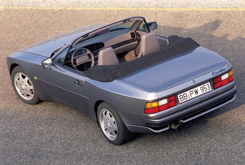 1991 Porsche 944 Turbo Cabriolet