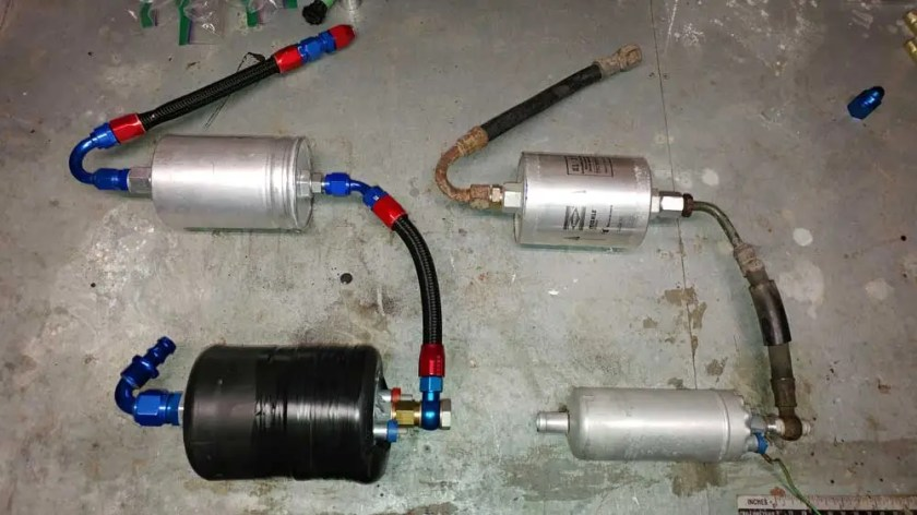 new porsche 944 turbo fuel pump and fuel filter assembly