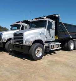 2012 mack gu713 tandem axle dump truck s n 1m2ax04ycm013341 mp 7 405hp eng mack t310m 10 sp camelback susp 11 24 5 tires p s a c jake brake  [ 1200 x 900 Pixel ]