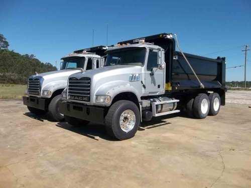 small resolution of 2012 mack gu713 tandem axle dump truck s n 1m2ax04ycm013341 mp 7 405hp eng mack t310m 10 sp camelback susp 11 24 5 tires p s a c jake brake