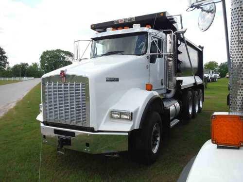 small resolution of 2015 kenworth t800 tri axle dump truck s n 1nkdl40x8fr471300 cummins isx15 500hp eng 10 sp 18740 lb front w 385 65r22 5 flotation tires on alum