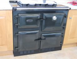 Rayburn 600K ex display oil fired range cooker