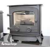Yeoman Exe Gas Stove Log Effect