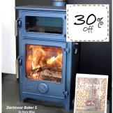 Dartmoor Baker 5 Se Wood Burning Stove ex-demo w