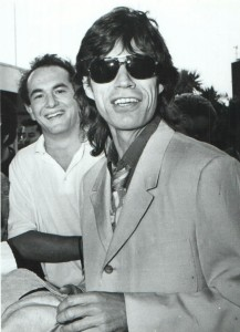 Mick and me at Auckland Airport, November, 1988