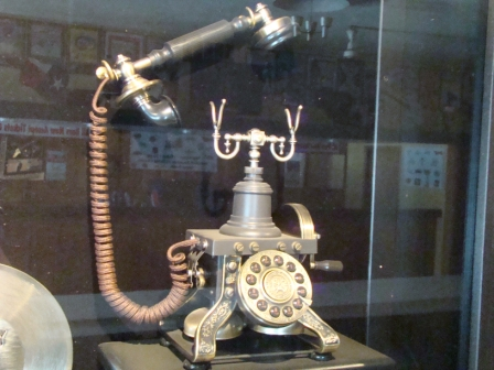 """""""Hello, baby! This is the Big Bopper speaking ..."""" The onstage prop he used for """"Chantilly Lace"""""""