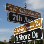 Meet you at J.P. Richardson Avenue and Ritchie Valens Drive.
