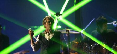 Roger Daltrey, at the VH1 Rock Honors tribute to the Who, in 2008