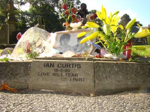 Ian Curtis—Macclesfield Cemetery