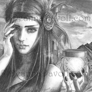 Evaki - Native American Goddess