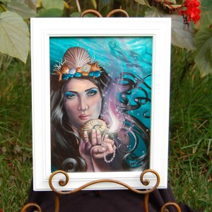 Ace of Cups - Original Oil Painting