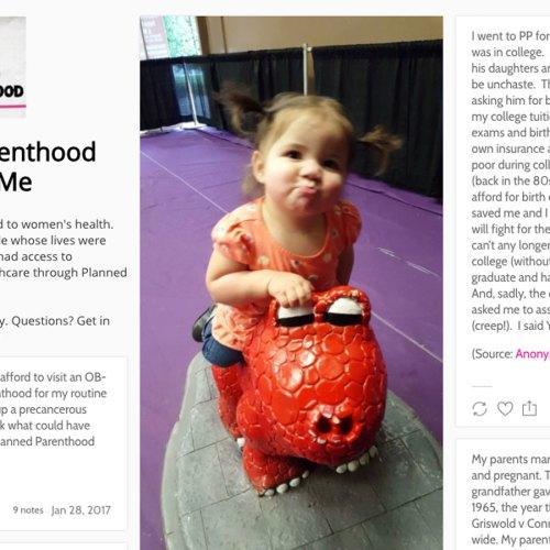 Planned Parenthood Saved Me