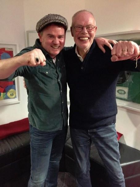 Dean Owens with Whispering Bob Harris (BBC Radio 2)