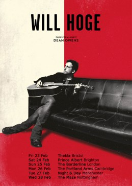 Will Hoge - tour image - eflier