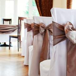 Chair Cover Rental London Koala Care High Hire Weddings Corporate Functions Parties Loose Fit Polyester Twill Covers