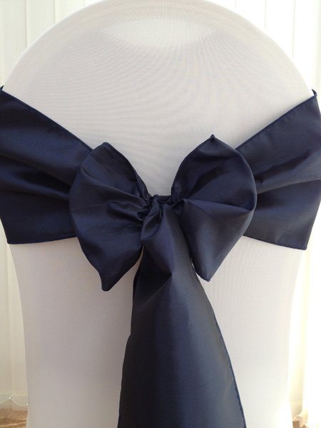 Hire Taffeta Sashes  Deans Chair Covers Northamptonshire