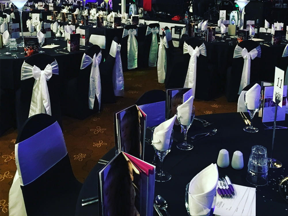 black chair covers to hire hook on corporate event styling in high wycombe deans for