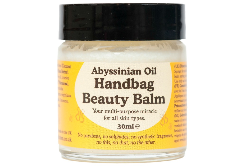 Beauty Kitchen handbag beauty balm