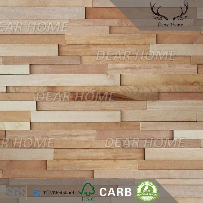 China 3D Decorative Wood Wall Panels for Interiors Factory