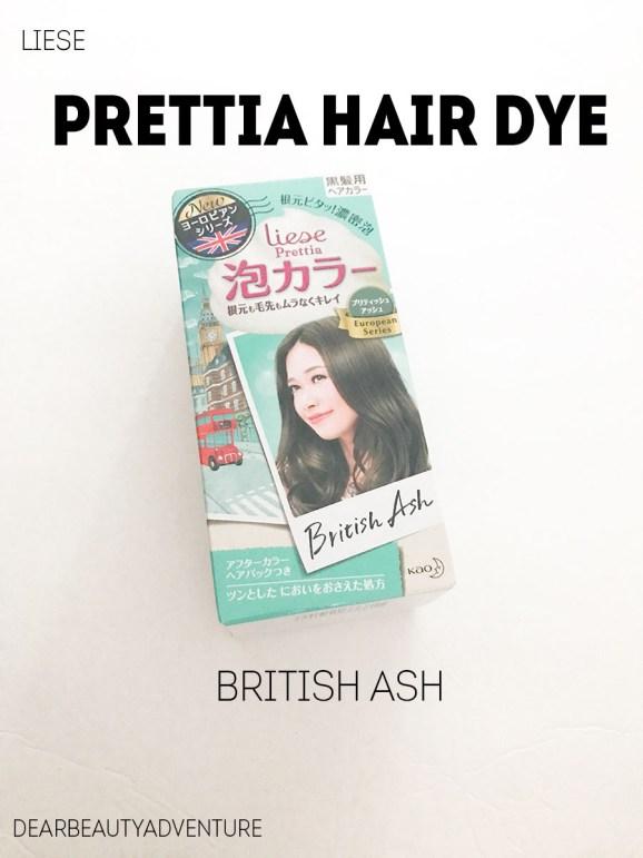 Review Liese Prettia Creamy Bubble Color Hair Dye In British Ash Dear Beauty Adventure